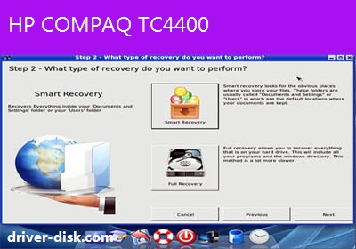 compaq windows vista recovery disk download